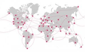 Глобальный мобильный роуминг доступен из Интернета