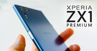 Последние слухи о Sony Xperia XZ1 Premium