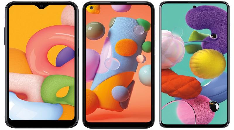 Недорогие телефоны Galaxy A-серии