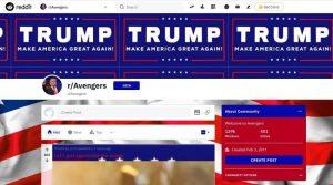 Хакер испортил десятки страниц форума Reddit изображениями в поддержку Трампа