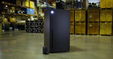 Microsoft создала холодильник Xbox Series X