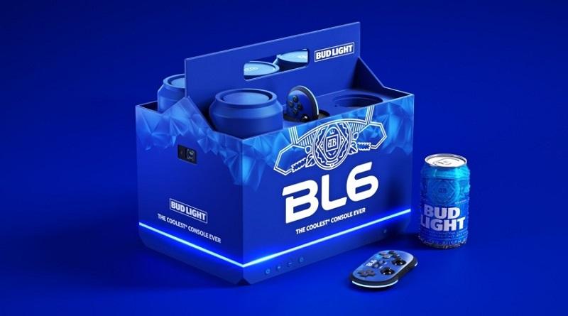 Познакомьтесь с BL6, игровой консолью Bud Light