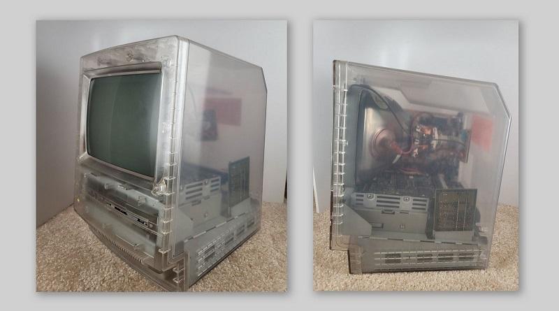Прозрачный прототип классического Macintosh появился в Twitter