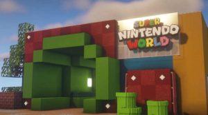 Теперь вы можете посетить мир Super Nintendo в Minecraft