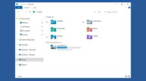 Microsoft обновляет системные значки Windows 10 в проводнике